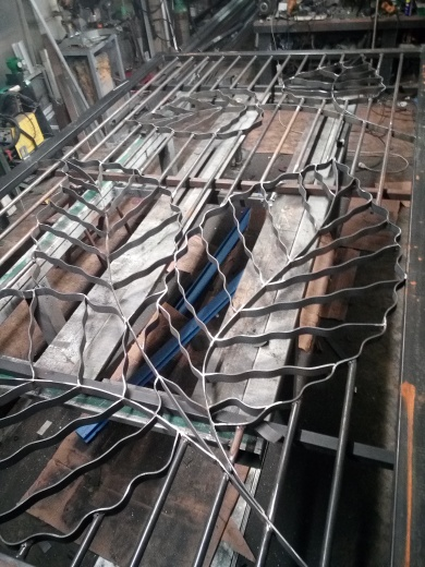 vantail 1 : fabrication terminée